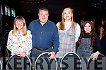 Marie and John O'Brien, Jennifer White and Sarah O'Brien at the Churchill Variety Show in Ballyroe Hotel on Sunday evening