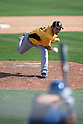 Ryota Igarashi (Pirates),.MARCH 3, 2012 - MLB :.Ryota Igarashi of the Pittsburgh Pirates pitches during a spring training game against the Toronto Blue Jays at Florida Auto Exchange Stadium in Dunedin, Florida, United States. (Photo by Thomas Anderson/AFLO) (JAPANESE NEWSPAPER OUT)