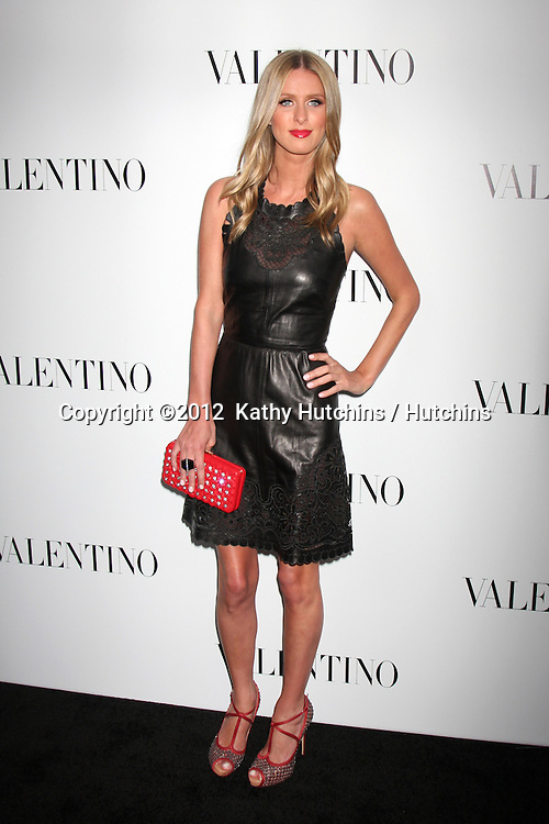 LOS ANGELES - MAR 27:  Nicky Hilton Valentino Beverly Hills Opening at the Valentino Store on March 27, 2012 in Beverly Hills, CA