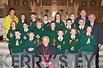 Pupils from Scartaglen NS at their confirmation in St Stephen's and John's Church Castleisland on Wednesday