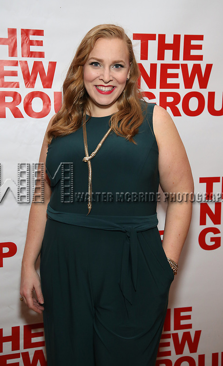 """Beth Kirkpatrick attends the Off-Broadway Opening Night Premiere of  """"Jerry Springer-The Opera"""" on February 22, 2018 at the Green Fig Urban Eatery in New York City."""