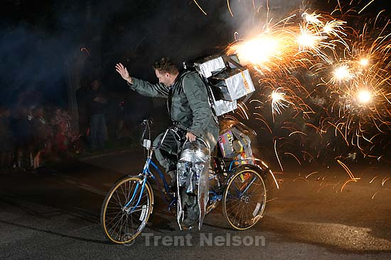 Provo - Rocketman makes his last 4th of July performance. Nathaniel Nelson