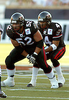 George Hudson and Kerry Joseph Ottawa Renegades 2004. Photo Scott Grant