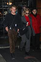 NEW YORK, NY - JANUARY 26: Jordan Barrett seen on January 26, 2018 in New York City. Credit: DC/MediaPunch