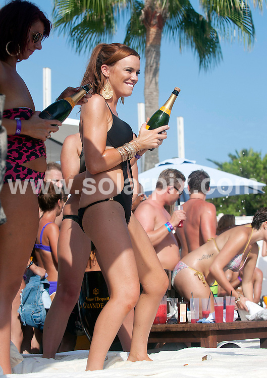 **ALL ROUND PICTURES FROM SOLARPIX.COM**                                             **WORLDWIDE SYNDICATION RIGHTS**                                                                                  Caption: The Bank Holiday Sintilate Champagne spray pool party at The Ocean Club in Puerto Banus Marbella.                                                                            ..This pic: Maria Fowler  leaving the party a bit worse for wear.                                                                                           ..JOB REF: 13898       AB1      DATE:28.08.2011                                                            **MUST CREDIT SOLARPIX.COM OR DOUBLE FEE WILL BE CHARGED**                                                                      **MUST AGREE FEE BEFORE ONLINE USAGE**                               **CALL US ON: +34 952 811 768 or LOW RATE FROM UK 0844 617 7637**