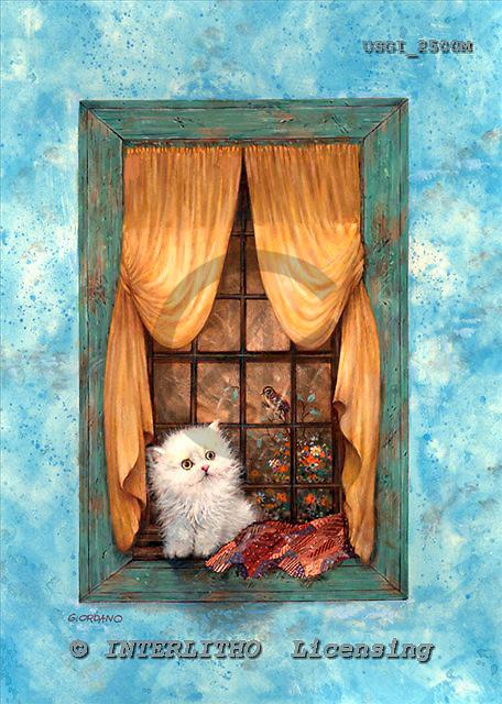 GIORDANO, CHRISTMAS ANIMALS, WEIHNACHTEN TIERE, NAVIDAD ANIMALES, paintings+++++,USGI2500M,#XA#