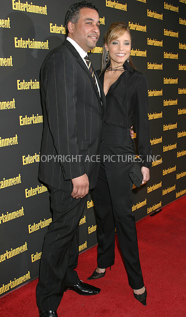 WWW.ACEPIXS.COM . . . . . ....NEW YORK, FEBRUARY 27, 2005....Michael Michelle at Entertainment Weekly's Academy Awards party at Elaine's.....Please byline: ACE009 - ACE PICTURES.. . . . . . ..Ace Pictures, Inc:  ..Philip Vaughan (646) 769-0430..e-mail: info@acepixs.com..web: http://www.acepixs.com