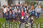 TREES: Pupils, teachers and parents and Douglas NS, Killorglin, who planted trees on the school grounds this week to mark National Tree Week.