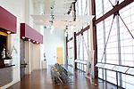 The lobby of the newly-opened Atlanta Ballet Michael C. Carlos Dance Centre in Atlanta, Georgia September 13, 2010.