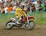 Motocross, MX2 WM 2004, Weltmeisterschaft, Grand Prix of Europe, Gaildorf (Germany) Marc de Reuver (NED), KTM
