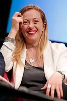 Giorgia Meloni<br /> Roma 10/05/2017. Convegno 'Sicurezza, Immigrazione, Periferie: dalla parte dei deboli'<br /> Rome 10th May 2017. Convention of the right wing parties.<br /> Foto Samantha Zucchi Insidefoto