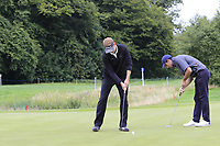 Mark Flindt Haastrup (DEN) putts on the 3rd green during Sunday's Final Round of the Northern Ireland Open 2018 presented by Modest Golf held at Galgorm Castle Golf Club, Ballymena, Northern Ireland. 19th August 2018.<br /> Picture: Eoin Clarke | Golffile<br /> <br /> <br /> All photos usage must carry mandatory copyright credit (&copy; Golffile | Eoin Clarke)