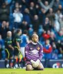Bad day at the office for Motherwell keeper Darren Randolph as Rangers put six past him