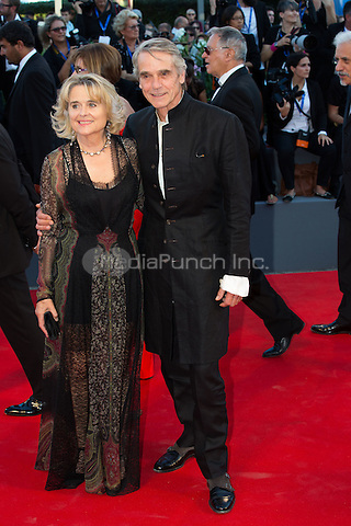Jeremy Irons, Sinead Cusack  at the opening ceremony and the premiere of  at the 2016 Venice Film Festival.<br /> August 31, 2016  Venice, Italy<br /> CAP/KA<br /> &copy;Kristina Afanasyeva/Capital Pictures /MediaPunch ***NORTH AND SOUTH AMERICAS ONLY***