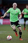 Conor Sammon of Sheffield Utd - English League One - Fleetwood Town vs Sheffield Utd - Highbury Stadium - Fleetwood - England - 5rd March 2016 - Picture Simon Bellis/Sportimage