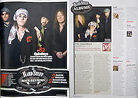 Quireboys in Classic Rock Magazine
