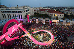 The Team Presentation before the 101st edition of the Giro d'Italia 2018. Jerusalem, Israel. 3rd May 2018.<br /> Picture: LaPresse/Massimo Paolone | Cyclefile<br /> <br /> <br /> All photos usage must carry mandatory copyright credit (&copy; Cyclefile | LaPresse/Massimo Paolone)