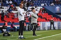 21st July 2020, Parc de Princes, Paris, France; Friendly club football, PSG versus Celtic;   Thomas TUCHEL coach of PSG and Neil LENNON coach of Celtic