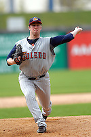 Pitcher Matt Hoffman of the Toledo Mud Hens during a game versus the Pawtucket Red Sox on May 3, 2011 at McCoy Stadium in Pawtucket, Rhode Island. Photo by Ken Babbitt /Four Seam Images