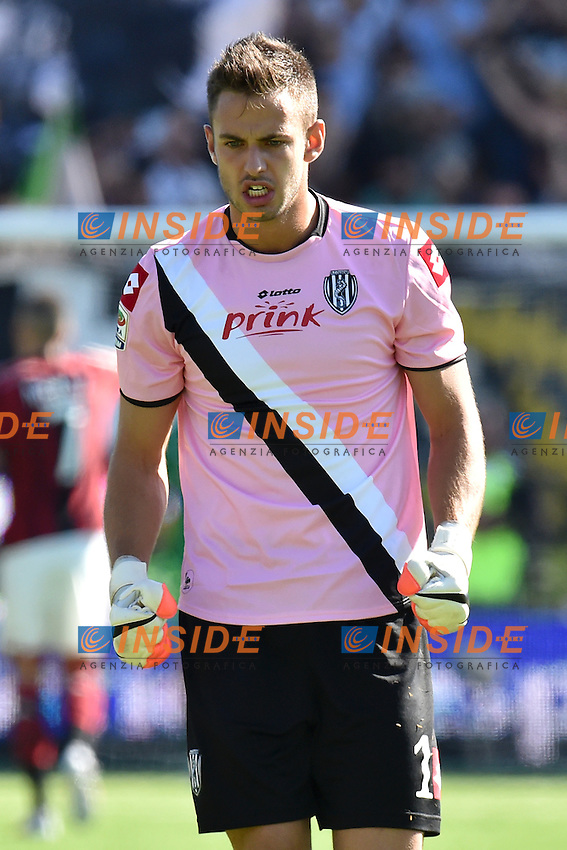 Nicola Leali Cesena <br /> Cesena 28-09-2014 Stadio Dino Manuzzi, Football Calcio Serie A Cesena - Milan. Foto Andrea Staccioli / Insidefoto