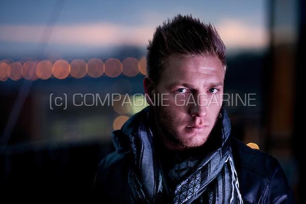 Belgian football player Jonathan Legear (Belgium, 18/02/2015)