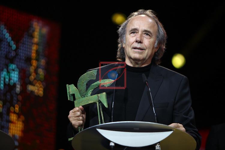 61 Premios Ondas.<br /> Gala ONDAS-Gran Teatre del Liceu.<br /> Joan Manel Serrat.