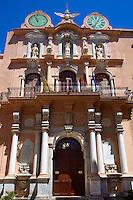 Statue of Our Lady Of Trapani on the Baroque Palazzo Senatorio [ Town Hall ] Trapani, Sicily