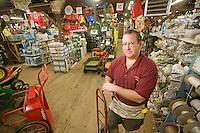 Store owner, Moorestown Hardware Store, Moorestown, New Jersey