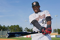Telvin Nash #32 of the Greeneville Astros at Burlington Athletic Stadium June22, 2010, in Burlington, North Carolina.  Photo by Brian Westerholt / Four Seam Images