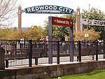 Redwood City Cal Train Station