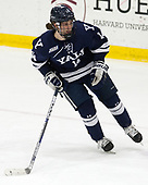 Mitchell Smith (Yale - 14) - The Harvard University Crimson defeated the Yale University Bulldogs 6-4 in the opening game of their ECAC quarterfinal series on Friday, March 10, 2017, at Bright-Landry Hockey Center in Boston, Massachusetts.