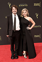 LOS ANGELES - SEPTEMBER 15: Billy Hopkins and Ashley Ingram attend the 2019 Creative Arts Emmy Awards at the Microsoft Theatre LA Live on September 15, 2019 in Los Angeles, California. (Photo by Scott Kirkland/PictureGroup)