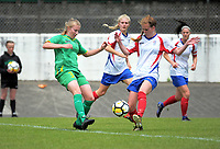Action from National Women's League football match between Central and Auckland at the Memorial Park in Palmerston North, New Zealand on Sunday, 5 November 2017. Photo: Dave Lintott / lintottphoto.co.nz