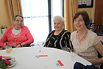 Mary Anne Fay (centre) who celebrated her 93rd birthday on Monday with friends at the Annual Summer Party in Drogheda Community Services Centre...(Photo credit should read Jenny Matthews www.newsfile.ie)....This Picture has been sent you under the conditions enclosed by:.Newsfile Ltd..The Studio,.Millmount Abbey,.Drogheda,.Co Meath..Ireland..Tel: +353(0)41-9871240.Fax: +353(0)41-9871260.GSM: +353(0)86-2500958.email: pictures@newsfile.ie.www.newsfile.ie.