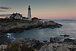 Portland Head Lighthouse on Cape Elizabeth, Portland, Maine