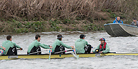 Hammersmith, GREATER LONDON. United Kingdom Cambridge University  Boat  Club, Pre Boat Race Fixture CUBC vs ITA M8+ for the 2017 Boat Race The Championship Course, Putney to Mortlake on the River Thames.<br /> <br /> 18/03/2017 Saturday<br /> <br /> [Mandatory Credit; Peter SPURRIER/Intersport Images]<br /> CUBC<br /> <br /> [R-L] Cox. Hugo Ramambason, S. Henry Meek, 7. Lance Tredell,6. Patrick Eble, 5. Aleksander Malowany,