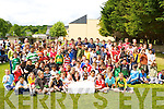 The students from Killarney Monastery primary school who held their sports day on Friday and raised money for the Make a Wish foundation   Copyright Kerry's Eye 2008