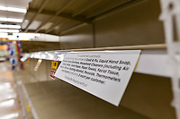 MAR 14 COVID-19 Virus Results Empty Shelves In Las Vegas