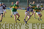 Kerry's Sean Maunsell and UL's Michael Verney.