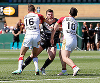 Broncos No8 in action during the U19's game between London Broncos and Catalans at Ealing Trailfinders, Ealing, on Sun May 1, 2016