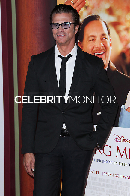 "BURBANK, CA - DECEMBER 09: Lorenzo Lamas arriving at the U.S. Premiere Of Disney's ""Saving Mr. Banks"" held at Walt Disney Studios on December 9, 2013 in Burbank, California. (Photo by Xavier Collin/Celebrity Monitor)"