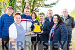 Callinafercy Rowing club unvailed their new defibilator at their clubhouse on Saturday l-r: JP, Anne, John Joe O'Sullivan, Patricce Boyle, Michael O'Shea Mayor, Jame O'sullivan Mary B Teahan Brendan Murphy