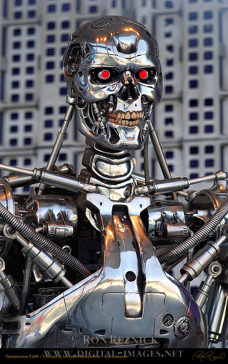Terminator T-800, Universal Studios Hollywood, Los Angeles, California