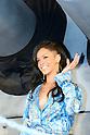 Rihanna, Apr 03, 2012 : TOKYO, JAPAN - Rihanna attends the 'Battleship' Japan Premiere at International Yoyogi first gymnasium on April 3, 2012 in Tokyo, Japan.