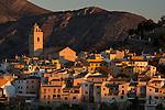 Polop de la Marina village, Alicante province, Comunidad Valenciana,