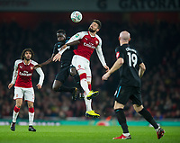 Arsenal's Olivier Giroud during the Carabao Cup QF match between Arsenal and West Ham United at the Emirates Stadium, London, England on 19 December 2017. Photo by Andrew Aleksiejczuk / PRiME Media Images.