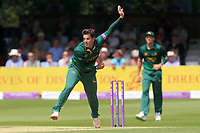 Steven Mullaney in bowling action for Notts during Essex Eagles vs Notts Outlaws, Royal London One-Day Cup Semi-Final Cricket at The Cloudfm County Ground on 16th June 2017