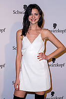 www.acepixs.com<br /> <br /> US and Canada Only<br /> <br /> Fata Hasanovic attends the 120th anniversary celebration of Schwarzkopf at U3 subway tunnel Potsdamer Platz on February 8, 2018 in Berlin, Germany.<br /> <br /> By Line: Scoop/ACE Pictures<br /> <br /> <br /> ACE Pictures Inc<br /> Tel: 6467670430<br /> Email: info@acepixs.com<br /> www.acepixs.com