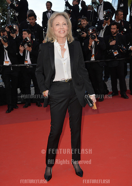 Actress Faye Dunaway at the gala premiere for &quot;The Last Face&quot; at the 69th Festival de Cannes.<br /> May 20, 2016  Cannes, France<br /> Picture: Paul Smith / Featureflash