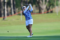 PATTAYA, THAILAND - FEBRUARY 22: Moriya Jutanugarn of Thailand 3rd shot on the 1st fairway during the second round of the Honda LPGA Thailand 2019 at Siam Country Club Pattaya (Old Course), Pattaya, Thailand on February 22, 2019.<br /> .<br /> .<br /> .<br /> (Photo by: Naratip Golf Srisupab/SEALs Sports Images)<br /> .<br /> Any image use must include a mandatory credit line adjacent to the content which should read: Naratip Golf Srisupab/SEALs Sports Images